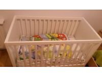 Ikea Stuva Cot bed with drawers (mattress and bedding) £50