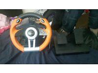 Speedlink steer wheel with no disc