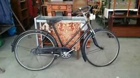 Vintage Hurcules artisan push bike