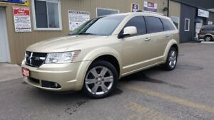 2010 Dodge Journey R/T AWD-LEATHER-SUNROOF-DVD-THIRD ROW-