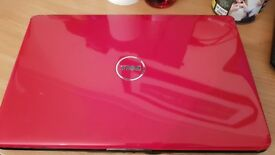 CHERY RED CHEAP DELL 1545 3 GIG MEM, 160GIG HDD, REFURB, CLEAN QUICK. OFFICE.WIN10