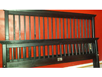 wooden and metal/ double beds with mattresses