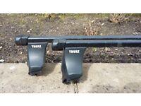 Thule Roof Bars - Kit 1218 - For VW Passat 2001-