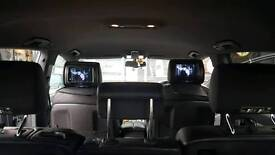 """2x 7"""" headrest dvd monitor screens FITTED"""