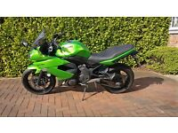 Kawasaki ER6F in Excellent Condition. Full Service History and 1 Owner from new.