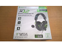 Brand New Turtle Beach X12 Xbox 360 Wired Headphones with Mic