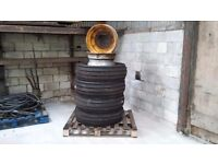Original genuine JCB front tyres
