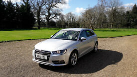 audi a3 1.8 tfsi, stunning car in artic silver,only 32,000 miles fron new,REDUCED PRICE