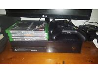 Xbox one 500gb 4games 2x offical controllers