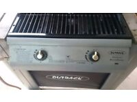 Outback Spectrum Twin Burner Gas Barbecue. Good working condition.