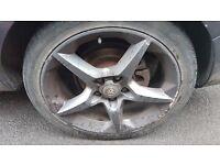 """18"""" Vauxhall Pentas 5x110"""