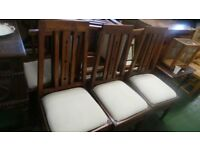 6x quality solid wood kitchen chairs,Very Good Conditon,Can Deliver