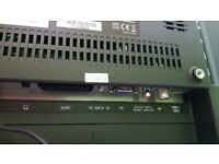 "JVC 32"" HD ready LED back lit LCD TV"