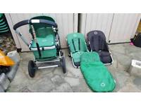 Bugaboo pushchair with extras