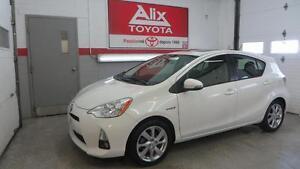 2012 Toyota PRIUS C TECNNOLOGIE +CUIR +TOIT