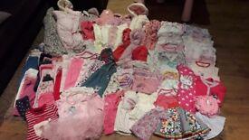 3-6months girls clothes bundle