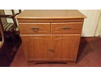 Cupboard with 2 drawers 80x40x80