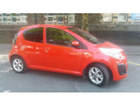 2012(12)CITROEN C1 1.0 VTR+ AUTOMATIC BRIGHT RED,NEW MOT,FSH,2 OWNER,£20 TAX,CLEAN CAR,GREAT VALUE