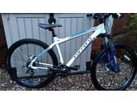 Carrera kraken 2016 mountain bike like new