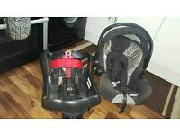 Graco car seat and base first stage 0+
