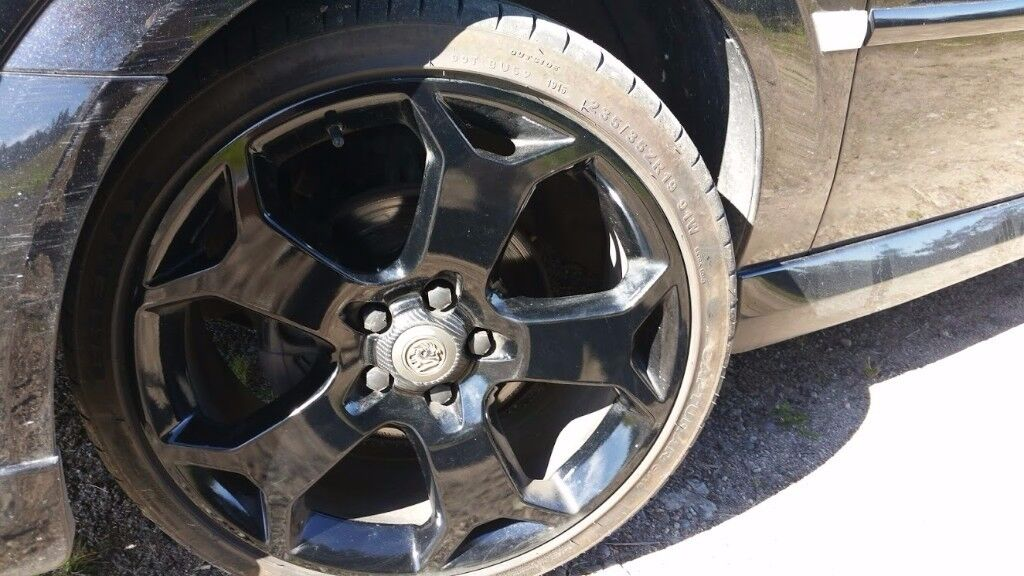 19 inch Black snowflake alloy wheels for sale