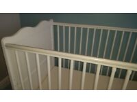White Cotbed Toddler Bed