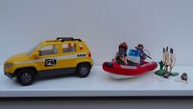 Playmobil Family Car and boat