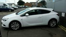 "4 x Astra GTC 18"" Alloys Wheels with tyres"