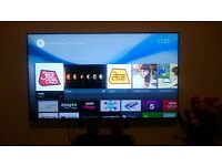 Sony KDL 50' Anroid ultra slim smart tv in new condition.