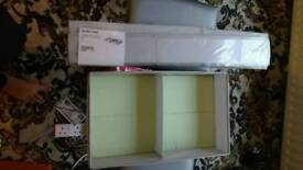 Ikea SLAKTING range box with compartments/ draw organise