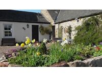 Midkinleith holiday cottage. First ten days and last ten days of April for only £300