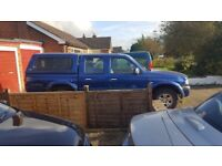 Mazda b2500 double cab 4wd manual abs pickup with hard top