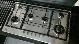 6-Ring Electrolux Gas Hob
