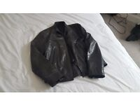 FRENCH CONNECTION MEN'S LEATHER JACKET