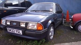 Mk3 Mk4 Mk5 Ford Escorts fiesta seirra For Sale