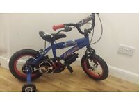 Boys silverfox pirate bike
