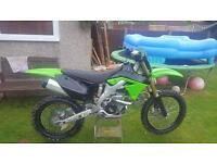 Kawasaki kx250f 2012 clean