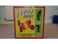 Toy Pedal Racer Four Wheel Pedal Balance Board