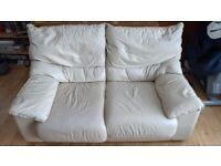 Free White Sofa, Two Seater