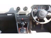 Audi A3 1.8 TFSI Sportback 2008 S-Tronic Automatic Paddle-Shift-Gear Petrol 60k F/S/Hist 2KEYS £5499