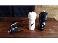 Pinarello Elite Carbon Bottle 66mm Cages + Bidons/waterbottles