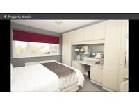Double bed - king size- and mattress