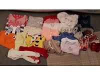 Baby Girls Clothes Bundle 3-6 Months £12