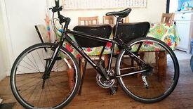 "Trek FX 7.1 hybrid bike, perfect condition, 17.5"" frame"