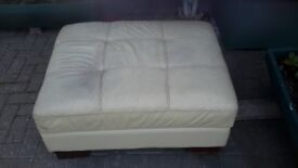Foot stool with storage