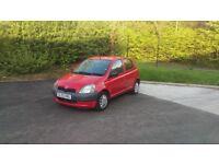 TOYOTA YARIS 1L FOR SALE Very cheap in insurance. Very low fuel consumption.
