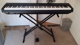Yamaha Digital Piano - 88 Weighted Touch Response Keys ( Good working condition)