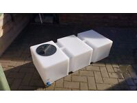125 Litre baffled tank for window cleaning/valeting. Only ever held pure water