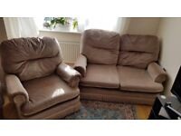 sofa and armchair set beautiful good quality