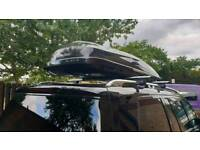 Mercedes-Benz roof box and roof bars
